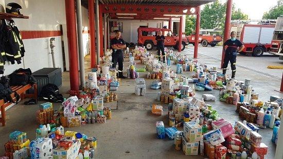 consorcio-bomberos-entrega-de-alimentos-familias-provincia-afectadas-crisis-coronavirus