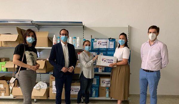 los-empleados-de-clece-entregan-6-toneladas-de-alimentos-en-la-provincia-de-cordoba