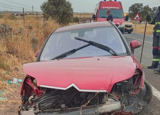 dos-heridos-accidente-de-trafico-carretera-a-435-pozoblanco-pedroche