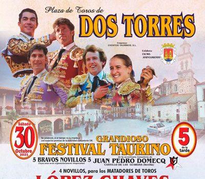 festival-taurino-en-dos-torres-con-cartel-repleto-de-figuras