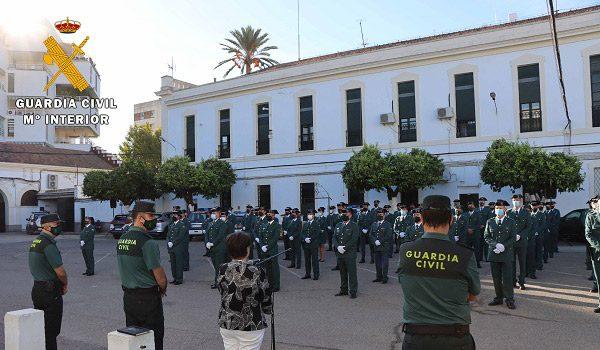 mas-de-100-guardias-civiles-reforzaran-unidades-y-puestos-de-la-provincia-de-cordoba